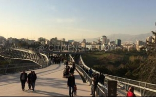 Iran: New 'Nature Bridge' continues to attract Tehranis